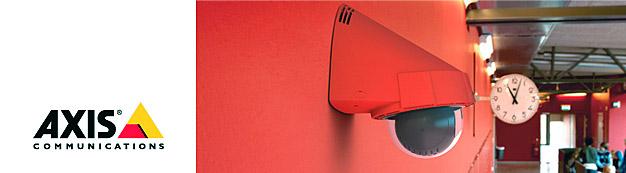 Система охранного видеонаблюдения Axis от компании Tenart