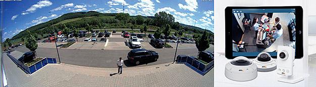 Axis, Mobotix, Acti и др Система охранного видеонаблюдения от компании Tenart