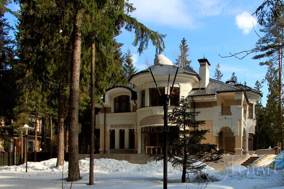 Загородный дом в «Переделкино».