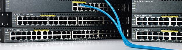 СКС компьютерные сети монтаж, настройка, оборудование Zyxel компания tenart