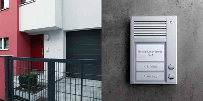 Домофония, вызывные панели производства немецкой компании TCSAG серия PAK от компании Tenart в России