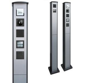 Домофония, вызывные панели производства немецкой компании TCSAG серия AMI от компании Tenart в России