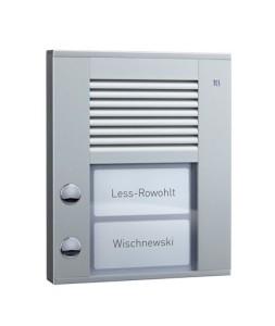 Домофония, вызывные панели производства немецкой компании TCSAG серия PES от компании Tenart в России