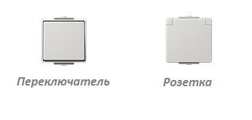 Электроустановочные изделия JUNG Серия WG 600 от компании Tenart