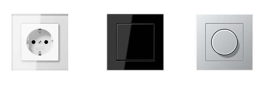 Электроустановочные изделия JUNG Серия А creation от компании Tenart