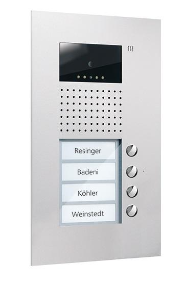 Домофония, вызывные панели производства немецкой компании TCSAG от компании Tenart в России