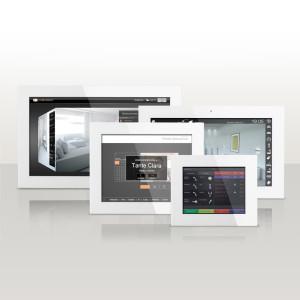 Автоматизация и визуализация комнии Home Cockpit серия Excelsior от компании Tenart в России